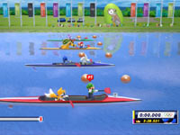 The rowing event from Mario & Sonic at the London 2012 Olympic Games
