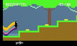 BIT.TRIP RUNNER game screen