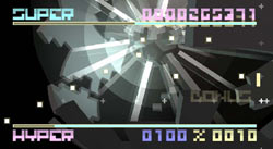 BIT.TRIP FLUX game screen