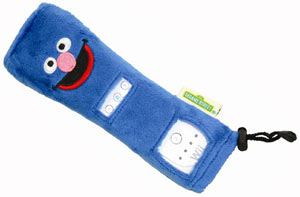 The Grover Wii Remote cover included in the Wii version of Sesame Street: Ready, Set, Grover!