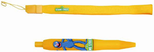 The Grover oversized stylus and strap included in the DS version of Sesame Street: Ready, Set, Grover!