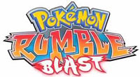 Pokémon Rumble Blast game logo