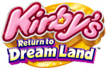 Kirby's Return to Dream Land game logo