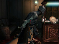 First-person shooter perspective option from Resident Evil: Revelations