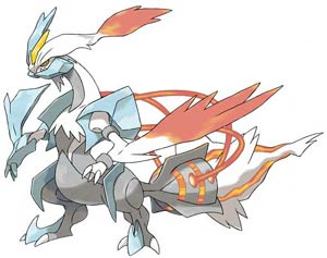 The new legendary Pokémon available in Pokémon White Version 2