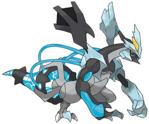 The new legendary Pokémon available in Pokémon Black Version 2