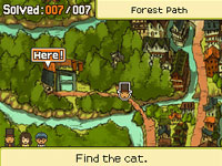 Finding a hint coin in Professor Layton and the Last Specter