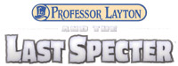 Professor Layton and the Last Specter game logo