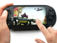 Using the front touch screen in gameplay in LittleBigPlanet for PlayStation Vita