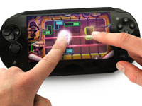An example of multi-touch functionality in LittleBigPlanet for PlayStation Vita