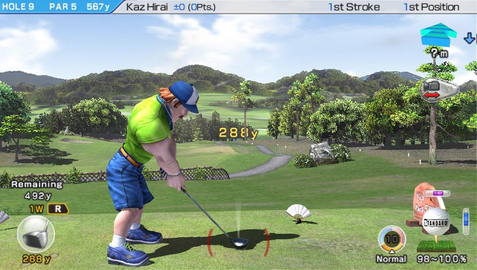 Amazon Com Hot Shots Golf World Invitational Sony Computer