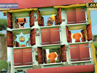 House of Whacks mini-game screenshot from Little Deviants