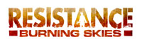 Resistance: Burning Skies game logo