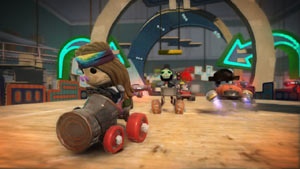 Taking the lead in LittleBigPlanet Karting