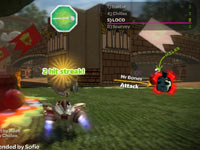 In-game multiplayer race stats from LittleBigPlanet Karting