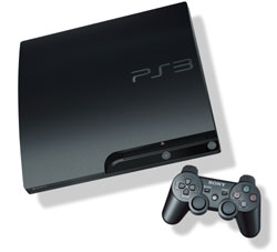 PlayStation 3 320 GB console with DualShock 3 wireless controller