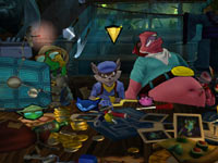 The Cooper Gang gathered together in Sly Cooper: Thieves in Time