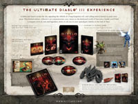 The Diablo III Collector's Edition box contents