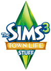 The Sims 3: Town Life Stuff Pack logo