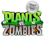 Plants vs. Zombies Game of the Year game logo