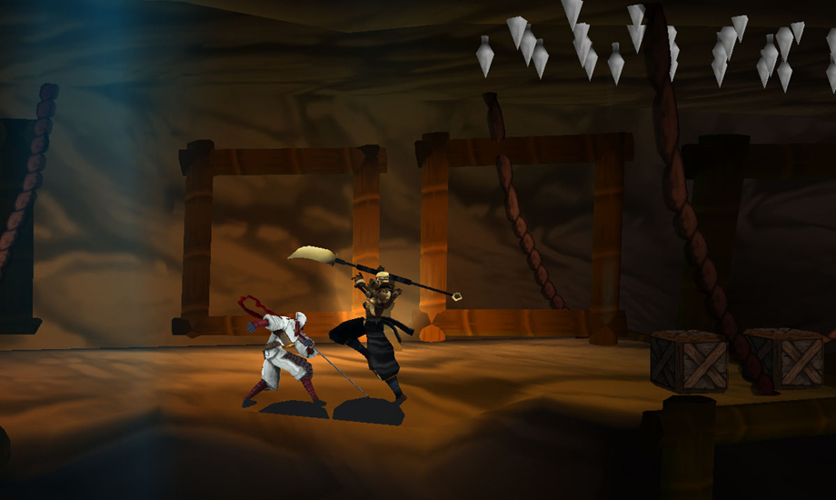 Classic ninja gameplay from Sega comes to Nintendo 3DS.