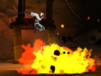 Screenshot from Shinobi for Nintendo 3DS