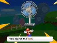 A found item that can be converted into a sticker for later use in Paper Mario: Sticker Star