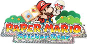 Paper Mario: Sticker Star game logo