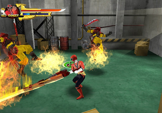 samurai power rangers games