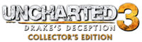 Uncharted 3: Drakes Deception Collector's Edition game logo