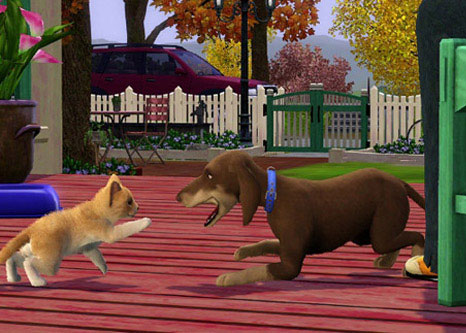 The Sims 3: Pets - Cat and Dog