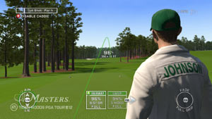 Caddie functionality from Tiger Woods PGA Tour 12: The Masters
