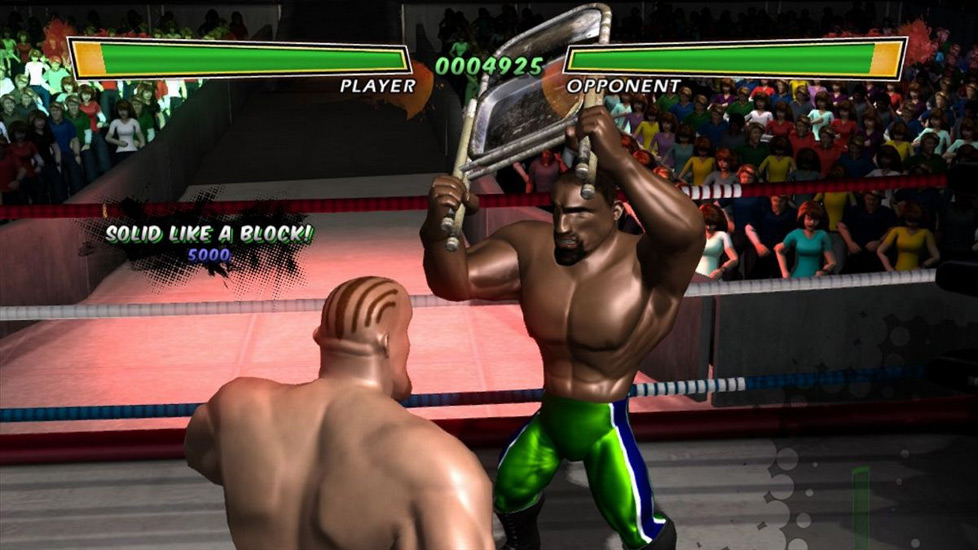 Hulk Hogan Main Event Kinect