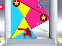 Shape Frenzy game challenge screen from Twister Mania