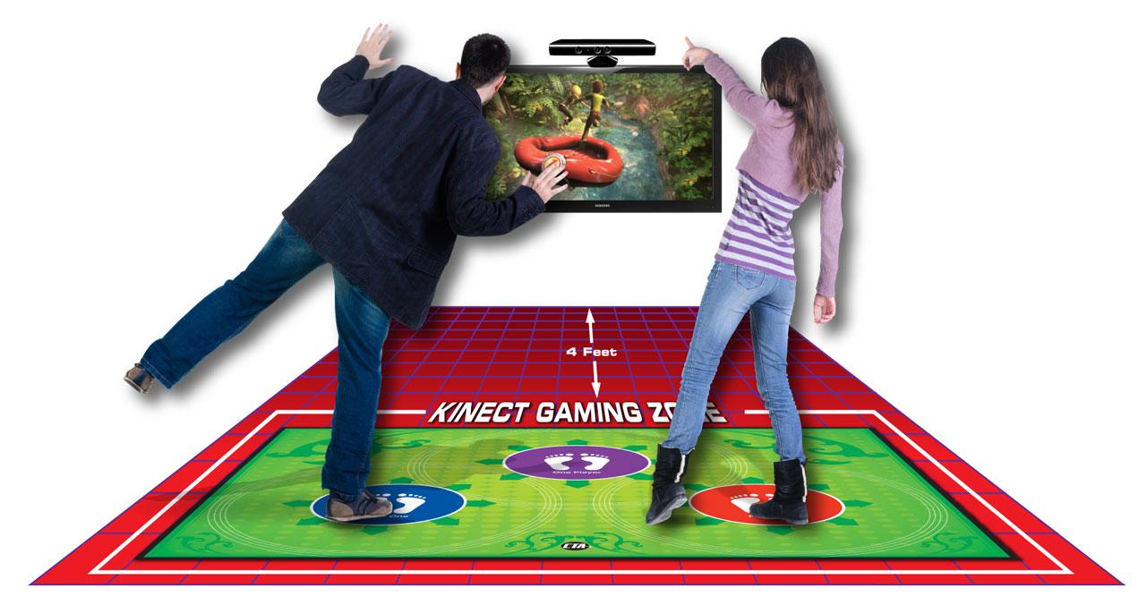 Amazon.com: CTA Digital Xbox 360 - Kinect Perfect Range