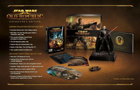 Star Wars: The Old Republic Collector's Edition box contents