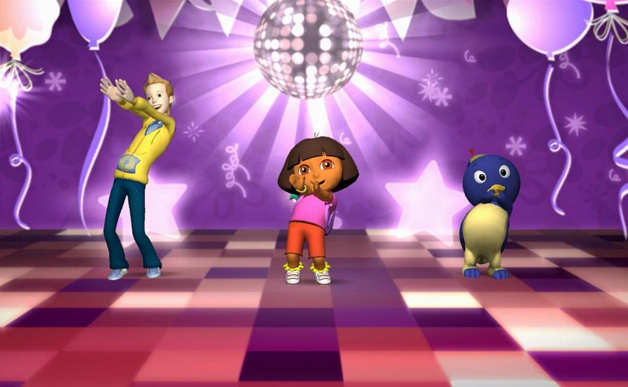 Amazon com: Nickelodeon Dance - Xbox 360: Take 2 Interactive: Video