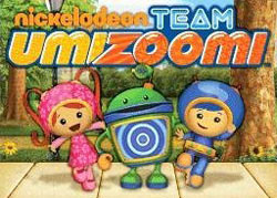 Milli, Bot and Geo from Team Umizoomi