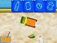 Using the DS touchscreen controls on a math mission with Milli and Bot in Team Umizoomi