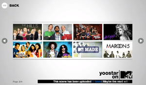 Clip selections from Yoostar on MTV