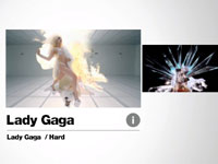 Music video options for Yoostar MTV