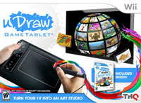 uDraw GameTablet Black with uDraw Studio: Instant Artist