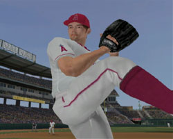 Pitching from the stretch in Major League Baseball 2K12 for Wii