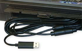 13 FT USB Cable with Internal Storage