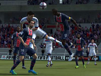 Executing a header in EA Sports FIFA Soccer