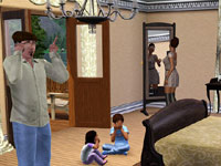 A family scene The Sims 3: Hidden Springs