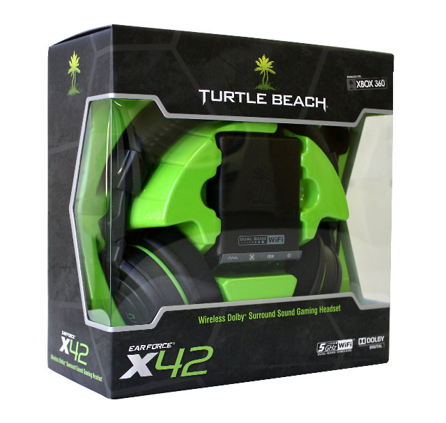 amazoncom turtle beach ear force x42 wireless dolby surround turtle beach 640x608