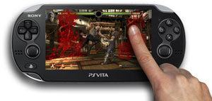 Using the PS Vita's touch screen in-game in Mortal Kombat