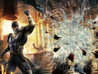 Executing a fatality in Mortal Kombat for PS Vita