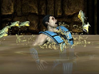 Death by fish in Mortal Kombat for PS Vita